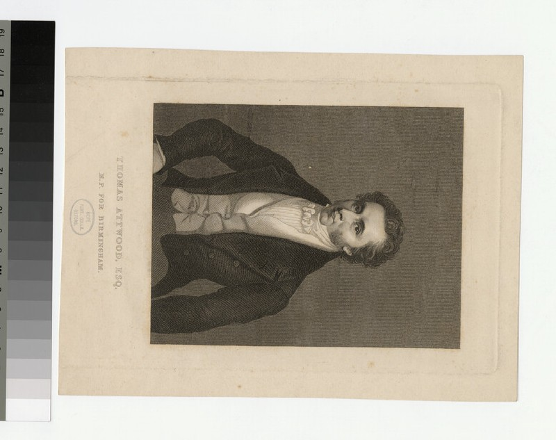 Portrait of T. Attwood (WAHP26293)