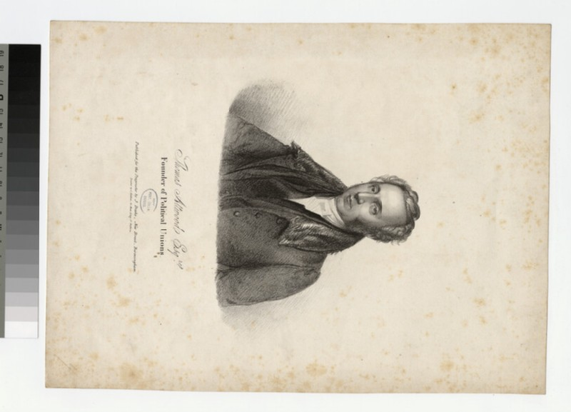 Portrait of T. Attwood