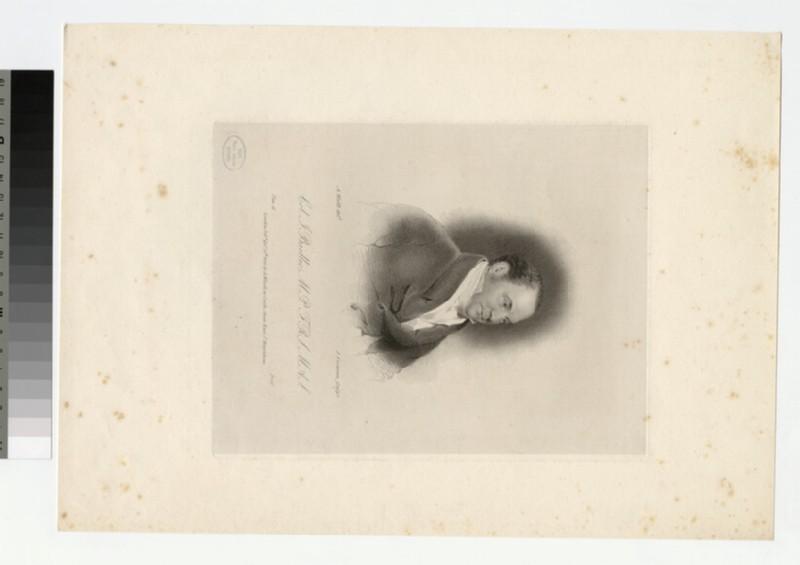 Portrait of J. Baillie