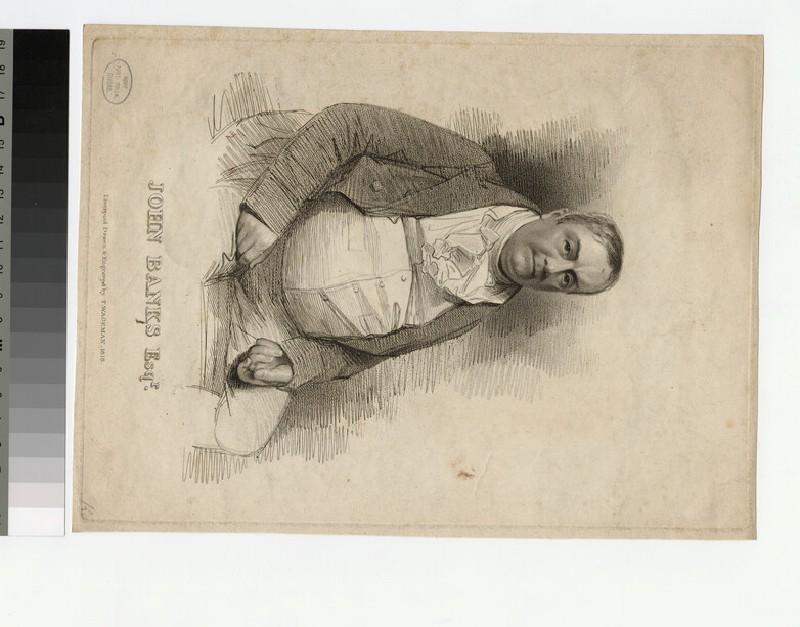 Portrait of J. Bankes