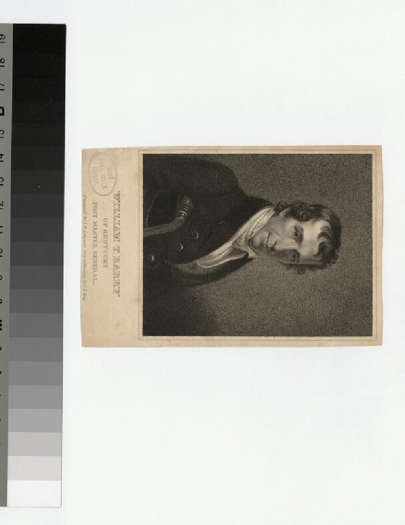 Portrait of W. T. Barry