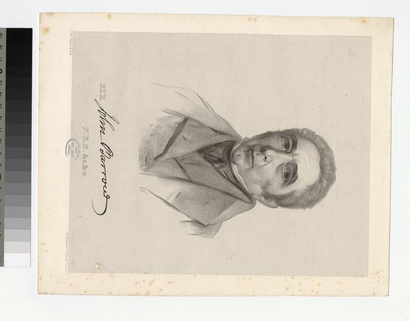 Portrait of J. Barrow