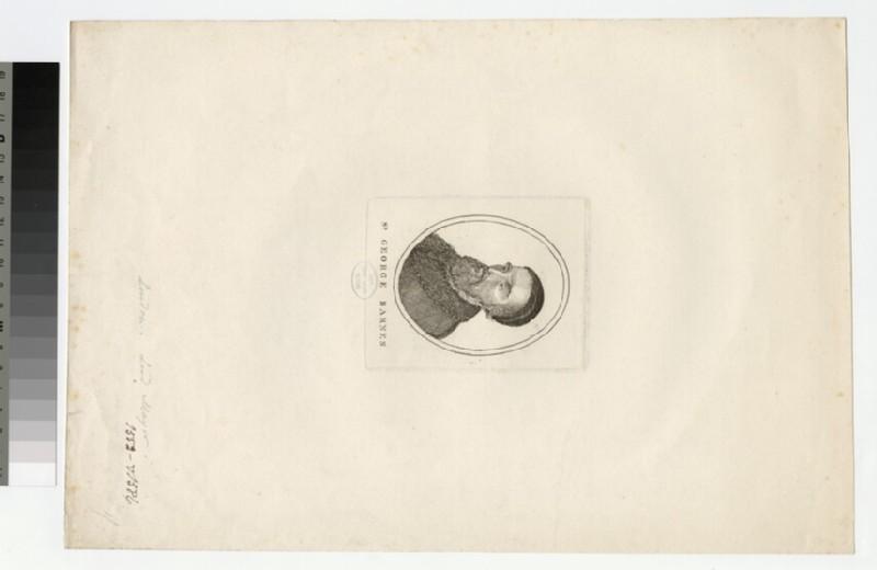 Portrait of G. Barnes
