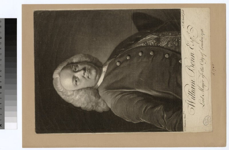Portrait of W. Benn