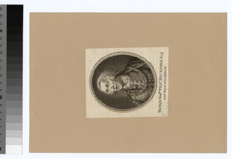 Portrait of W. Beckford