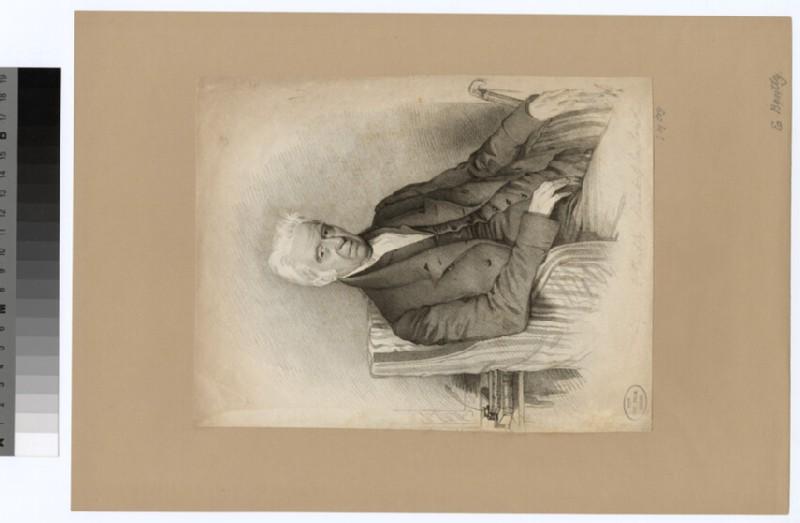 Portrait of E. Bently