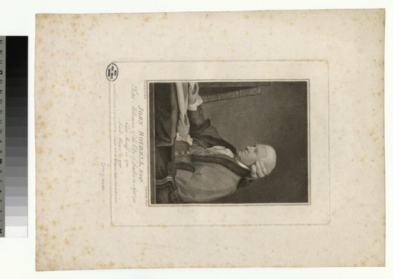 Portrait of J. Boydell