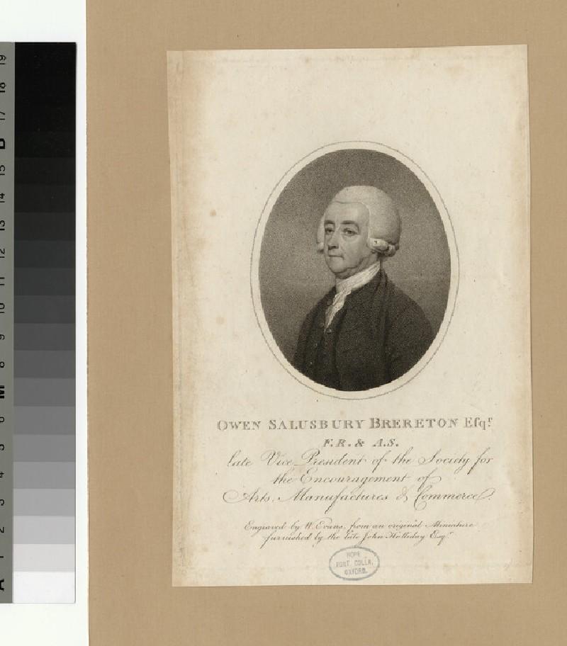 Portrait of Owen Salisbury Brereton (WAHP26465)