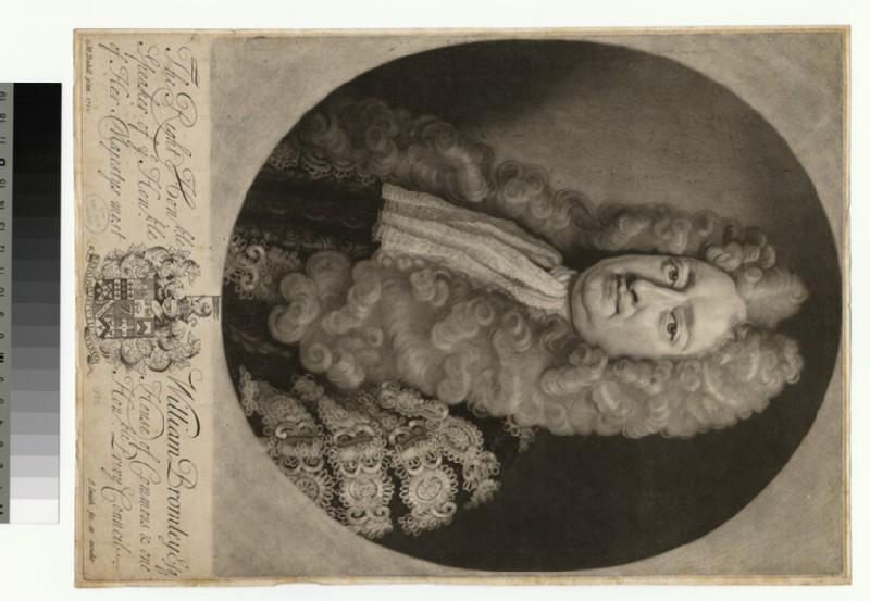 Portrait of William Bromley