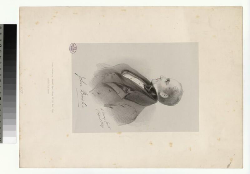 Portrait of J. Bushe