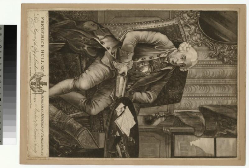 Portrait of F. Bull (WAHP26564)