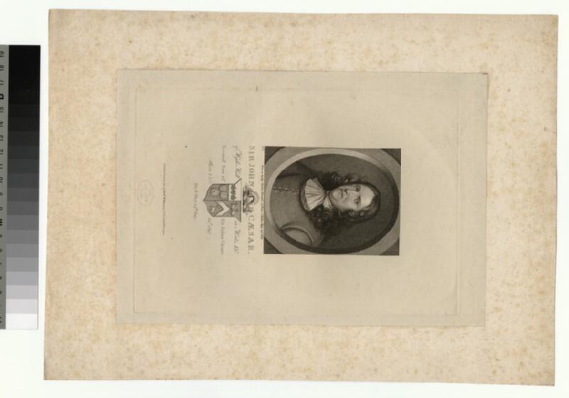 Portrait of John Caesar (WAHP26587)