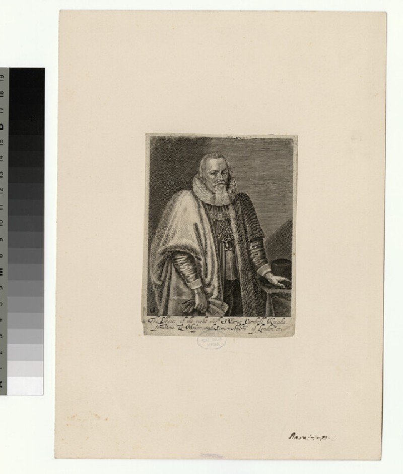 Portrait of Sir James Campbell (WAHP26601)