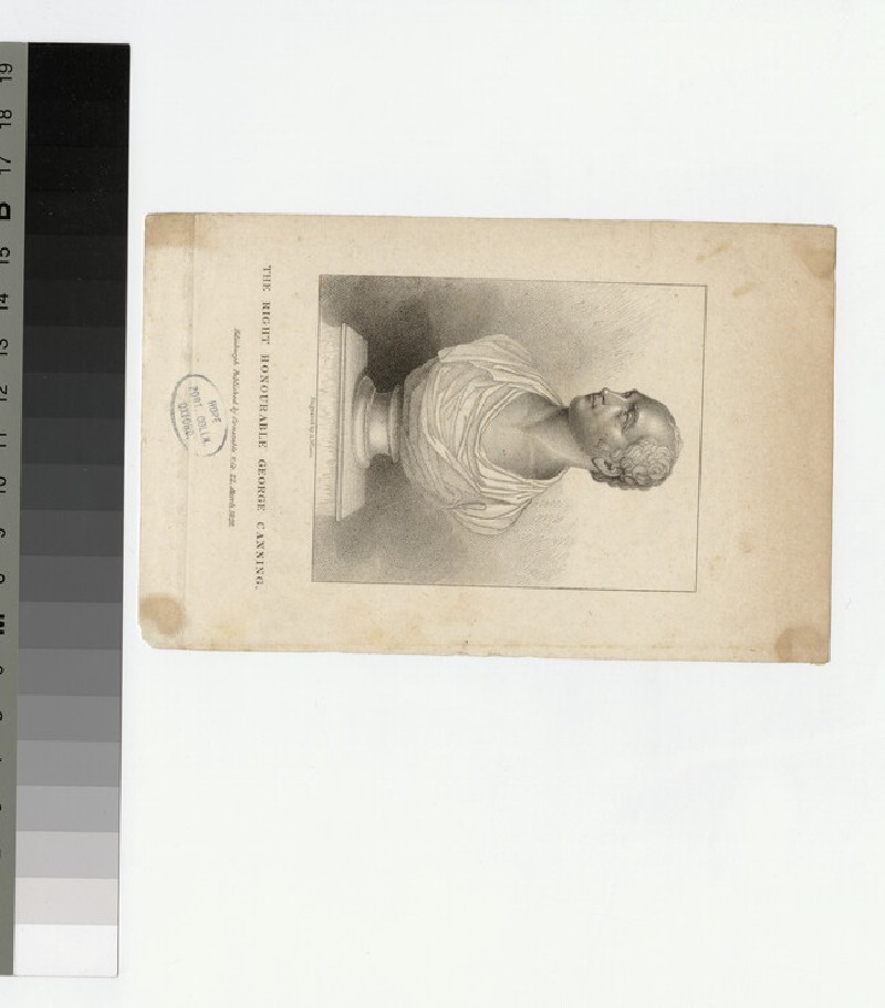 Portrait of G. Canning