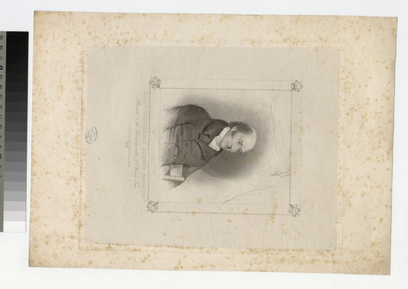 Portrait of G. Canning (WAHP26623)