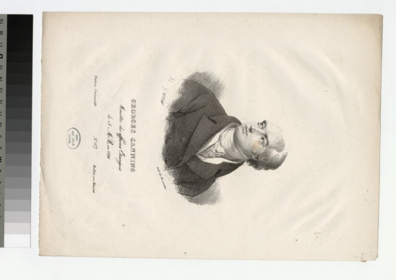 Portrait of G. Canning (WAHP26644)