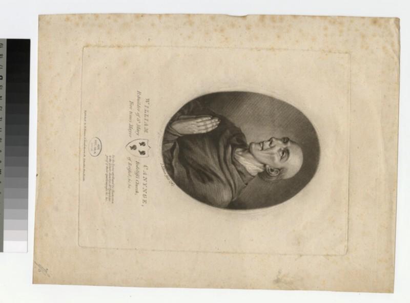 Portrait of W. Canynge