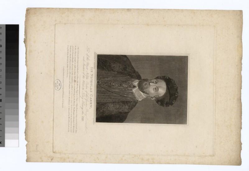 Portrait of Sir Nicholas Carew (WAHP26654.1)