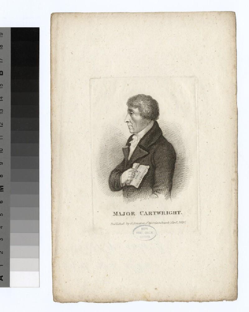 Portrait of Maj.J. Cartwright