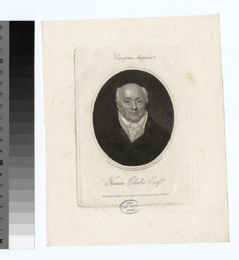 Portrait of F. Chalie