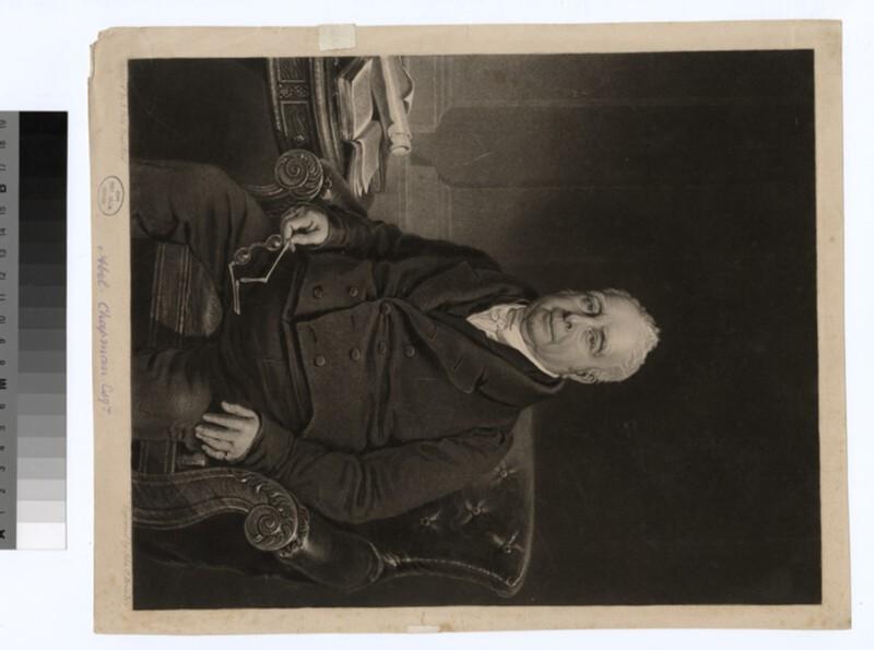 Portrait of A. Chapman (WAHP26688)