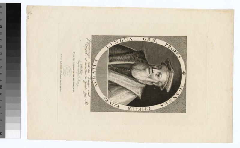 Portrait of J. Cheke