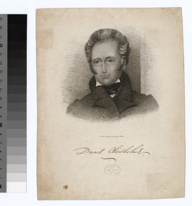 Portrait of D. Chisholme