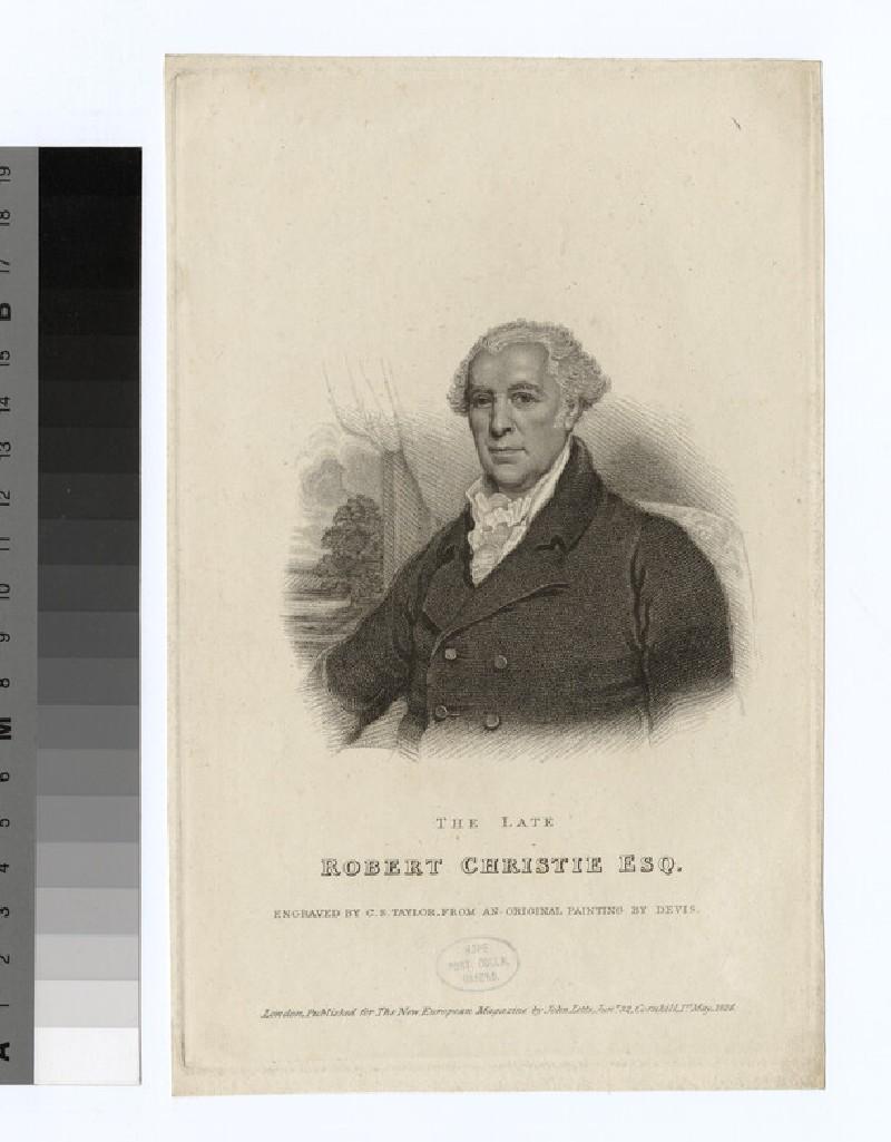 Portrait of R. Christie (WAHP26716)