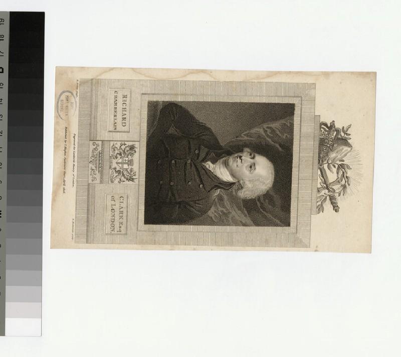 Portrait of R. Clark