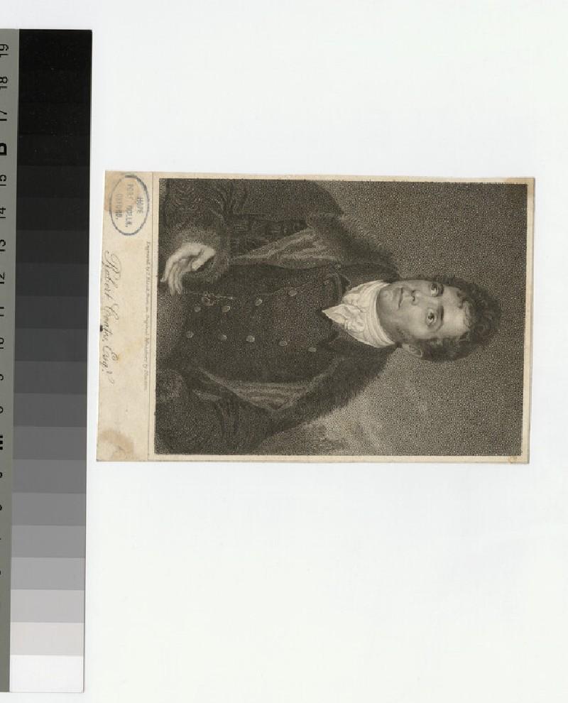 Portrait of R. Coates