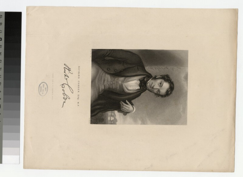Portrait of R. Cobden