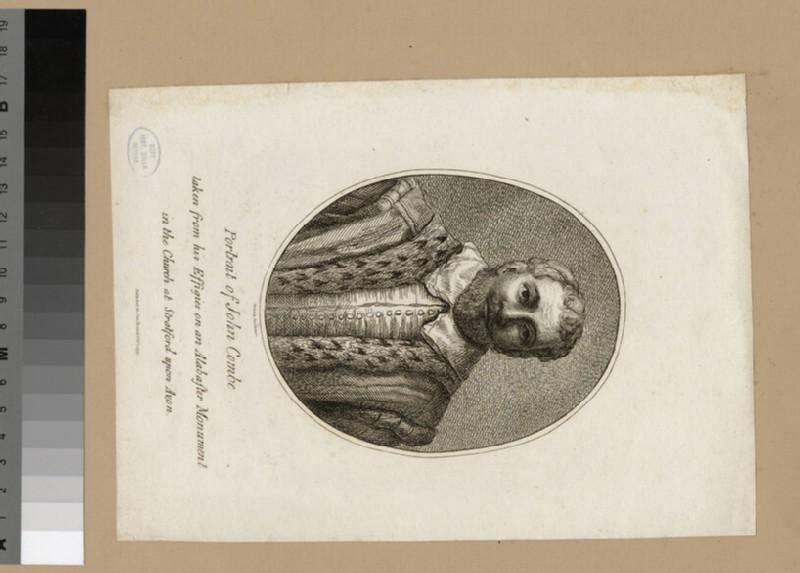 Portrait of J. Combe