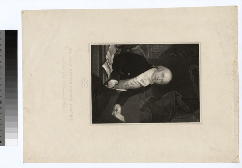Portrait of J. H. Cooper