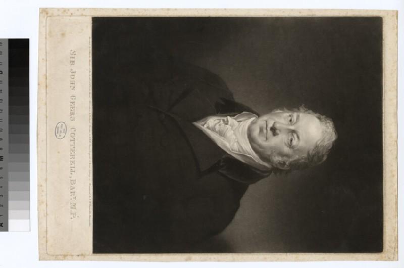 Portrait of J. G. Cotterell