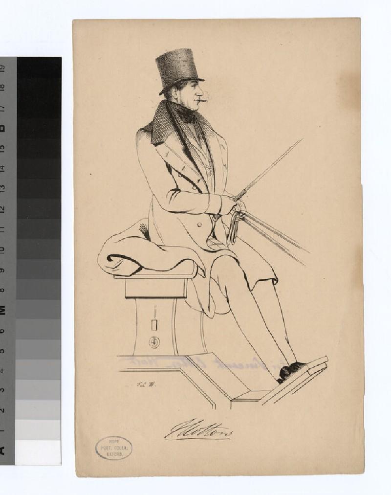 Portrait of V. Cotton