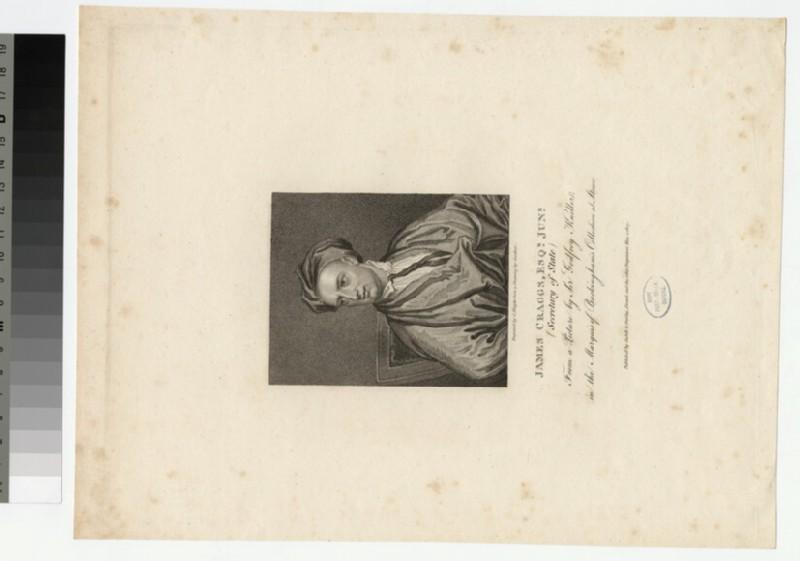 Portrait of J. Craggs (WAHP26860)