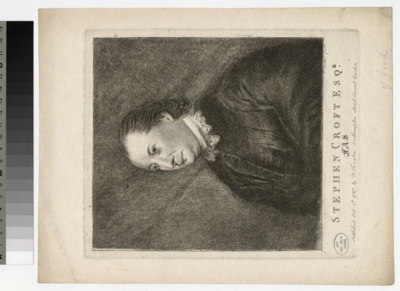 Portrait of S. Croft