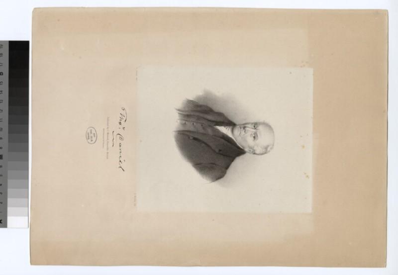 Portrait of T. Daniel