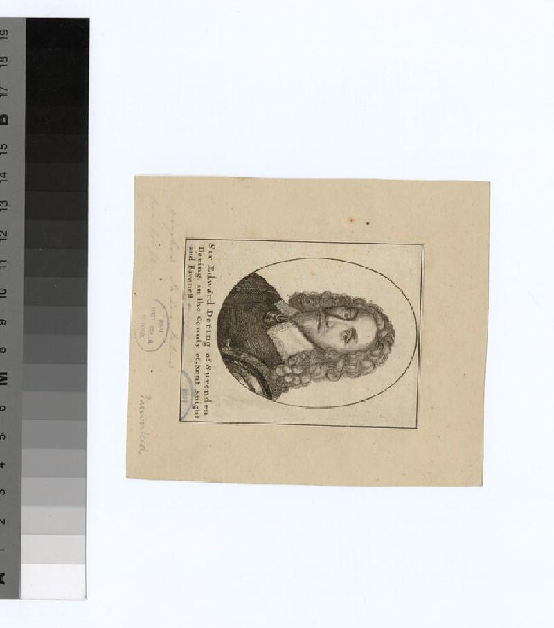 Portrait of E. Dering
