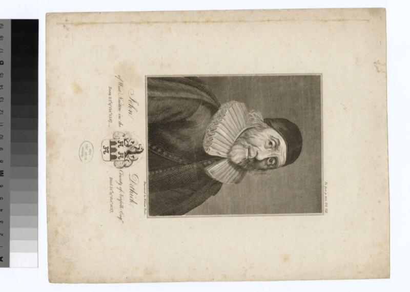 Portrait of John Dethick (WAHP26928)