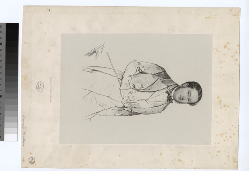 Portrait of F. Dickens
