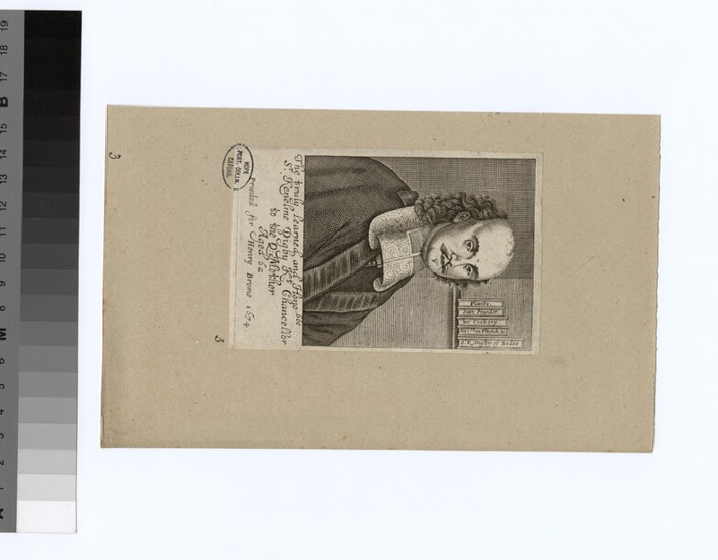 Portrait of K. Digby