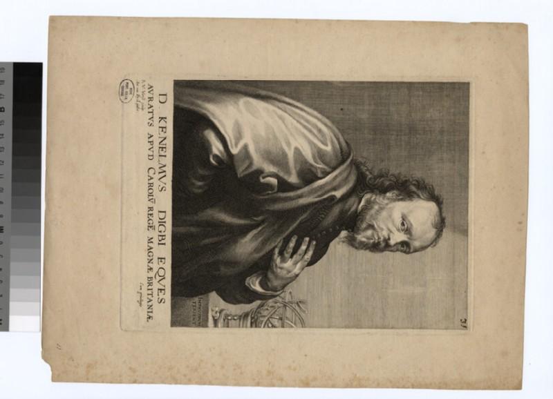 Portrait of Kenelm Digby