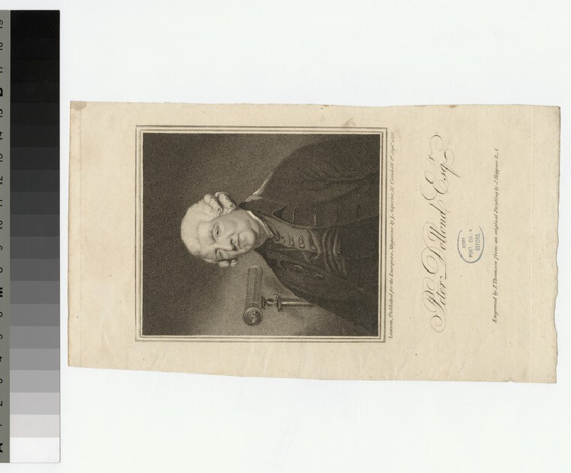 Portrait of P. Dollond (WAHP26966)