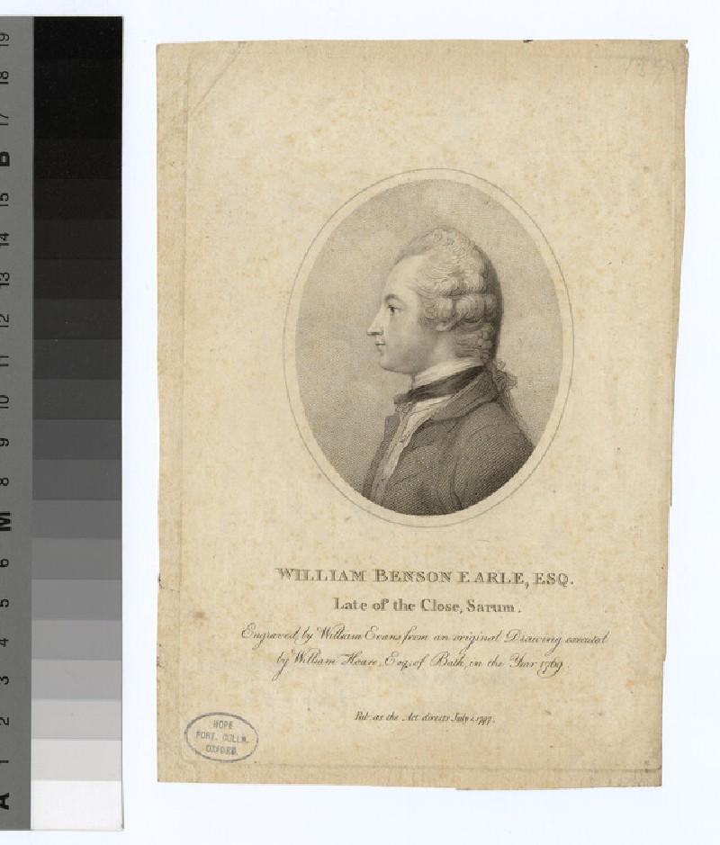 Portrait of W. B. Earle