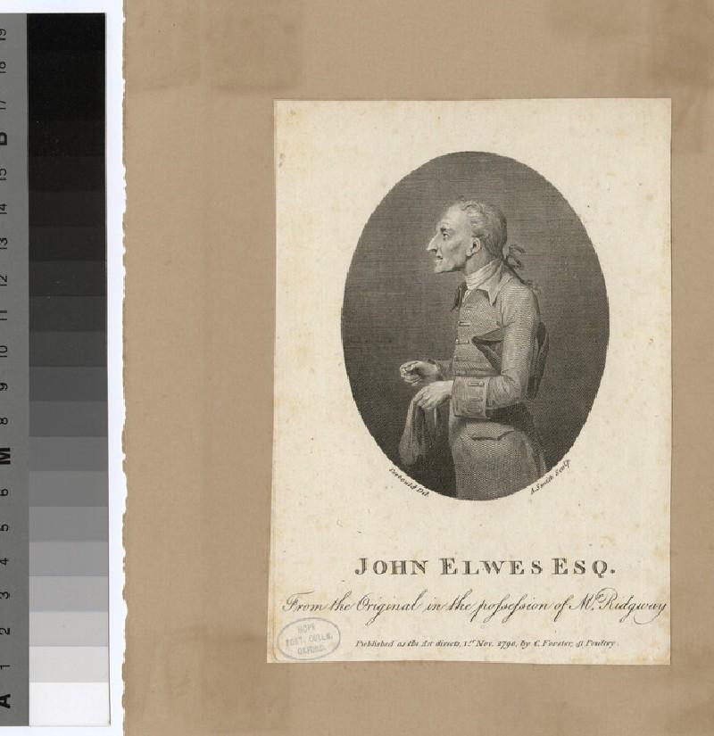 Portrait of J. Elwes