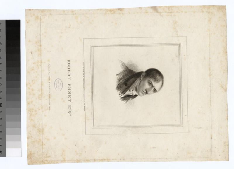 Portrait of R. Emmet (WAHP27035)