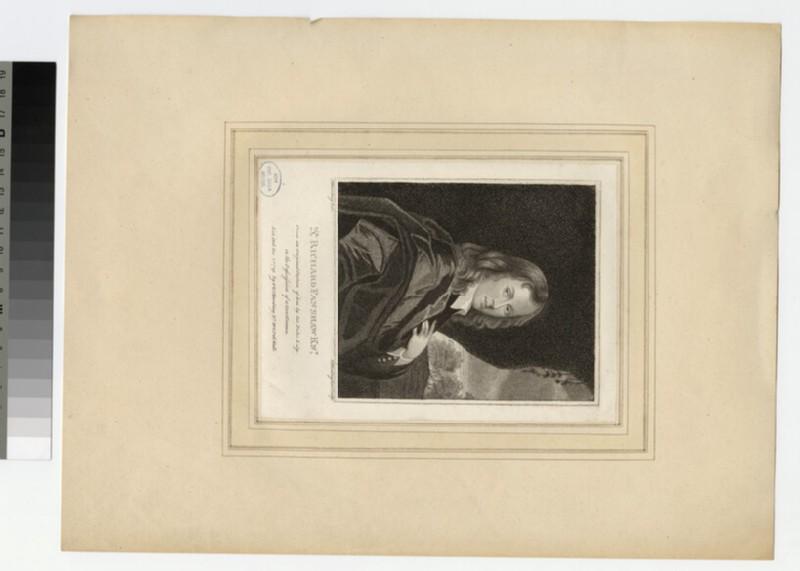 Portrait of R. Fanshaw (WAHP27055)