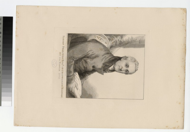 Portrait of R. Fellowes (WAHP27069)