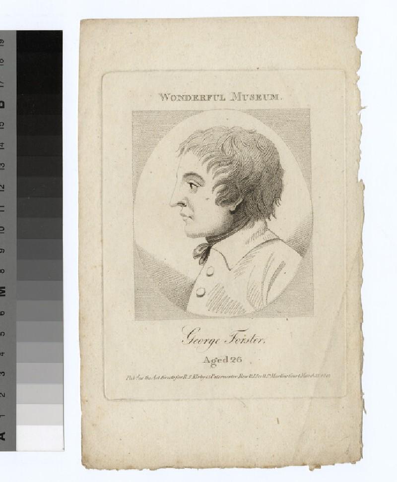 Portrait of G. Forster